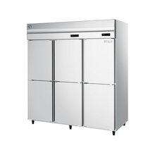 星崎六门HRF-188MA星崎立式六门双温冷柜星崎M系列冷冻冷藏柜风冷双温六门冰箱