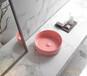 啞光粉盆、綠色盆、黑色臺盆藝術盆、安東尼奧、意大利工藝、粉紅色臺盆臺上盆