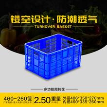 廠家重慶塑料膠筐、水果筐蔬菜筐、周轉箱、簍子和蘿圖片