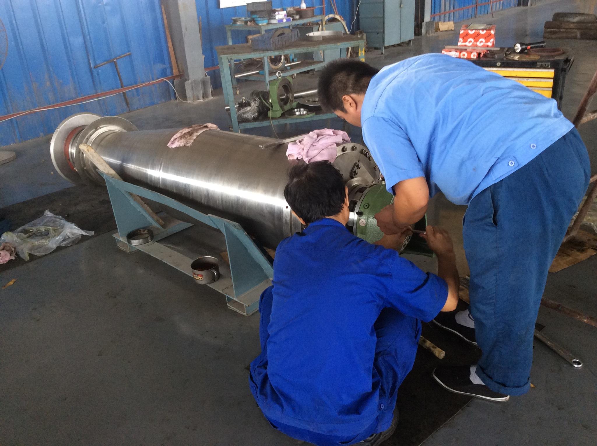 新疆阿勒泰阿法拉伐P2-425卧螺离心机大范围维修价格实惠