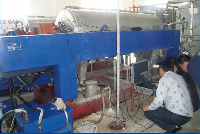 广西柳州圣骑士沉降离心机设备大修整机送年保养