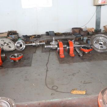新疆哈密煤焦油卧式进口离心机螺旋尺寸修复
