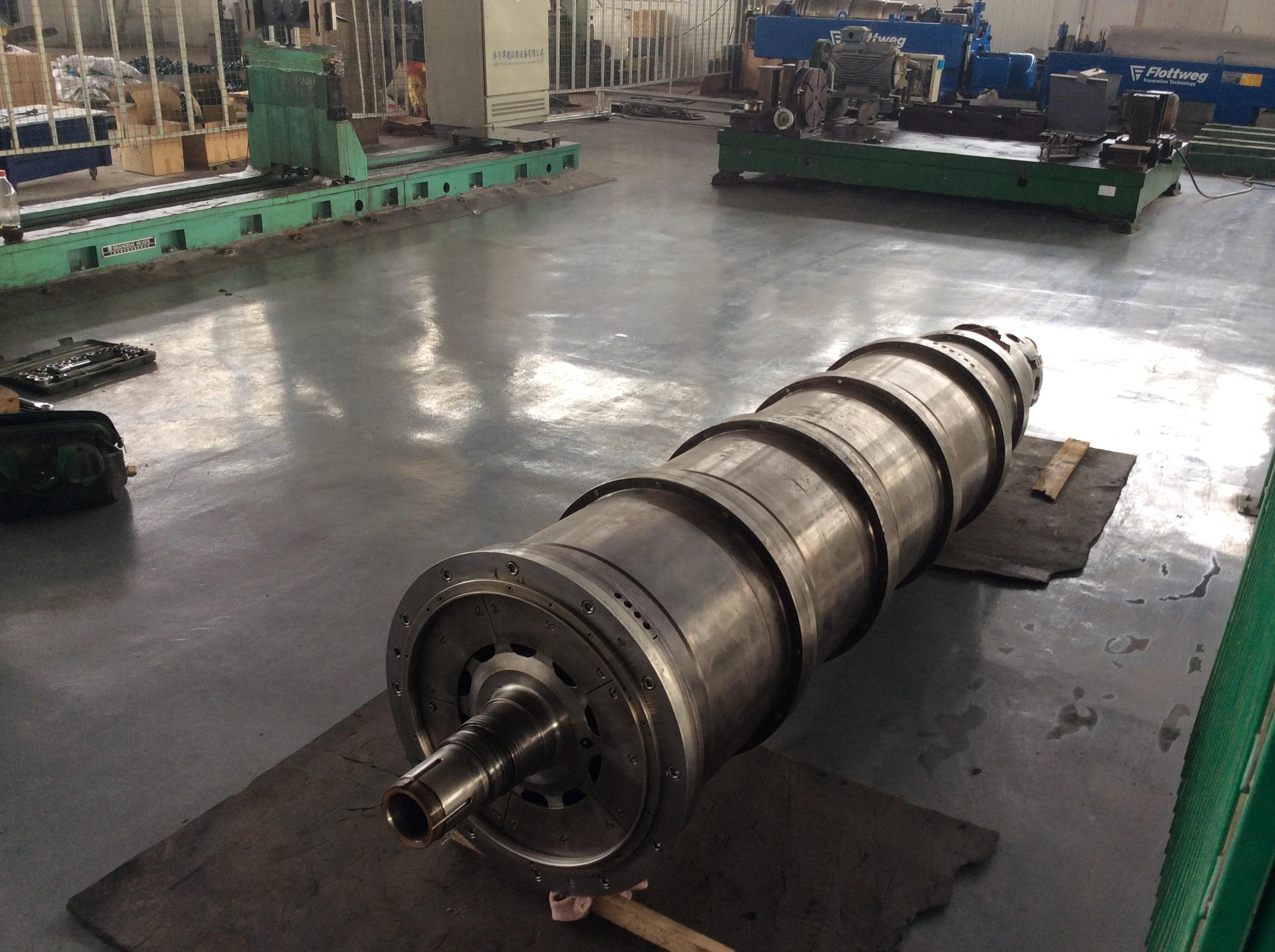 安徽芜湖煤焦油卧式原厂卧式离心机正规维修实惠