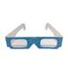 現貨立體紙質3d眼鏡電影院廠家訂做批發紅藍3D眼鏡