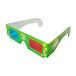 紙質紅藍3D眼鏡3D立體眼鏡3d眼鏡電影院專用