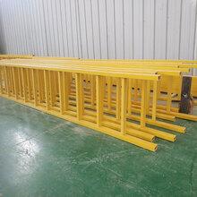 河北厂家定做玻璃钢护笼梯耐腐蚀玻璃钢梯子图片