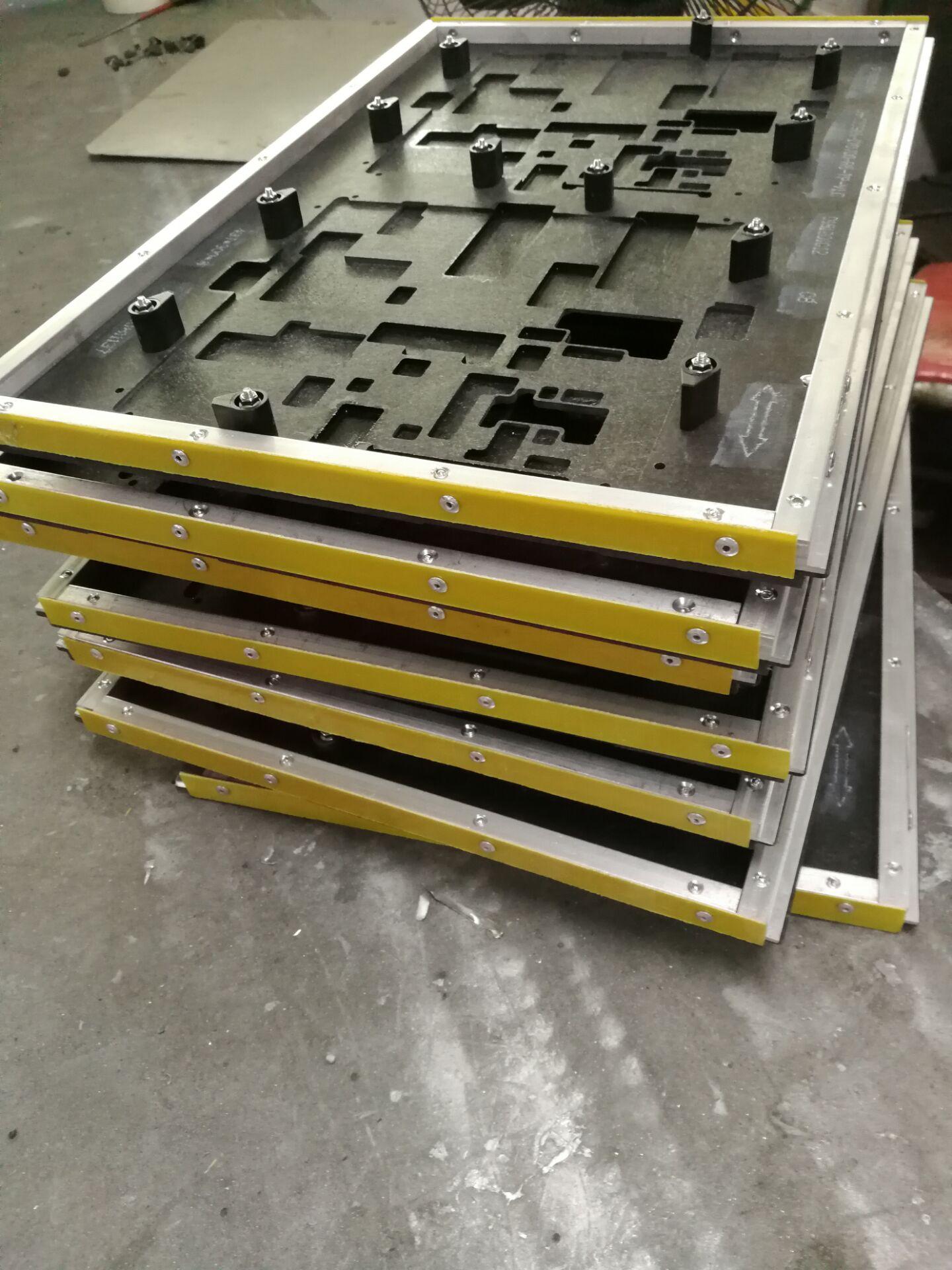 SMT表面贴装板过炉托盘过锡炉夹具PCB绝缘板CDM板防静电绝缘板