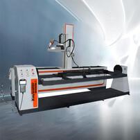 軌道式焊接機器人,自動焊接,自動二保焊,國產焊接機器人圖片