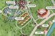 手繪地圖.南山景區手繪地圖.5A級景區卡通地圖