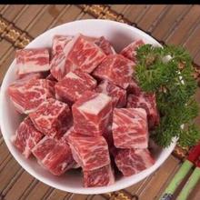 浙江宁波进口雪花和牛羊上脑砖牛腹肉牛舌肋条批发图片