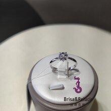 获得国内国际认证的合成钻石白色裸钻