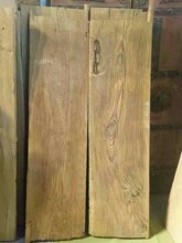 百年风化纹榆木门板图片