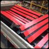 煤矿井下800mm皮带机缓冲床采用聚氨酯缓冲条