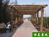 恒美景观水泥仿木塑木设计宿迁环保水泥仿木纹图片优质服务