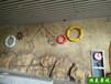 泰州環保塑石藝術墻面設計造型美觀水泥藝術墻面施工