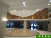 南京承接恒美景觀塑石藝術墻面設計水泥藝術墻面造價