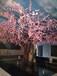恒美室內包柱仿真花樹,鎮江恒美室內仿真櫻花樹展示廠家直銷