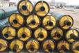 热力供暖用钢套钢保温管钢套钢复合保温管聚氨酯保温管厂家