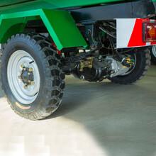 小区环保电动车电动三轮环卫翻桶车3立方容量图片