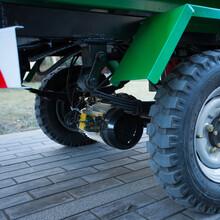 电动翻桶垃圾车挂桶式三轮垃圾车3方容量图片