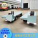 卸货电动平板车工地仓库电动拉货车蓄电池电动平板车