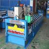 铁板活动房840彩钢屋面瓦加工设备840单板机全自动压瓦机