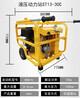 汽油柴油移动式液压动力站配备液压属具使用液压渣浆泵