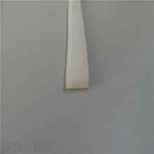 方形透明硅胶条发泡条耐高温海绵密封条图片