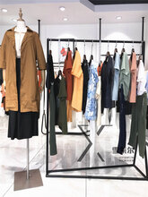 海倫國際服裝批發市場一琢春裝連衣裙尾貨渠道圖片