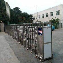 上海电动门安装上海伸缩门安装厂家上海伸缩门批发裕祺临智能科技图片