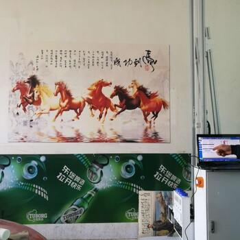 3D立体墙体打印彩绘机墙面喷绘机社会主义宣传标语墙体彩绘机新农村建设绘画机