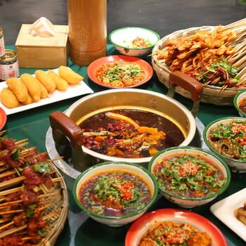 巷子里頭麻辣燙、小碗菜料、腌肉料、串串香底料批發