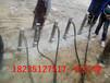 新疆乌鲁木齐膨胀机大块岩石解体用劈裂机成本哪家便宜
