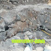 九江德安采石场钩机效率太慢劈裂棒厂家联系电话图片