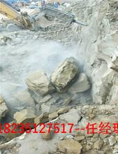 安庆液压劈裂机和风镐哪个效率高单价图片