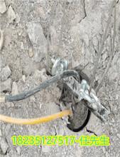 花岗岩开采矿山开采岩石解体劈裂机厂家临汾襄汾图片