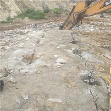 嘉峪关铁路开挖石头破碎机液压器厂商出售图片