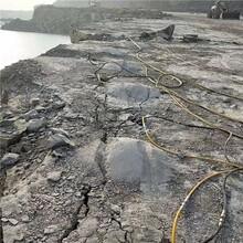 西安花岗岩坚硬石头分裂机良心推荐图片