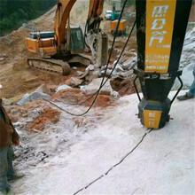 广安静态开挖破石器打孔布控教学注意哪些细节图片