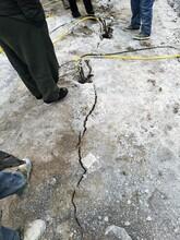 梧州岩石太硬液压劈裂机效率高不高图片