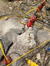 苏州石料开采矿山裂石机代替放炮怎么使用图片