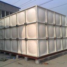 临汾消防水箱多少钱一立、3吨玻璃钢水箱价格图片