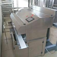 全新型餅干電動擺盤機-全不銹鋼自動化食品排盤機圖片