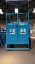 電梯防護門-電梯安全門供應商-2019施工電梯門報價圖片
