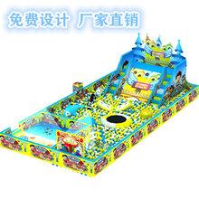 淘气堡儿童乐园大型游乐场设备百万海洋塑料球池亲子乐园飞跃滑梯设备图片