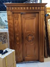 盛世唐朝铜门高端铜门,别墅�K铜门价格表/厂家报价图片