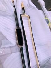 宁波别墅安装铜楼梯扶手现场实拍效果图图片