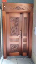 中国最大的铜门公司_防爆铸铝门_别墅铜门厂图片