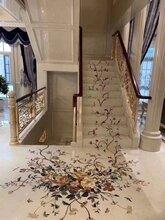 纯铜楼梯立柱厂家-深圳纯铜楼梯厂家-广州铜楼梯生产厂图片