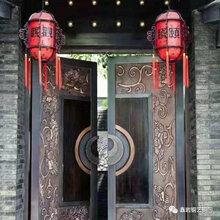 浮雕铜门旋转铜门双雄铜门汇盈铜门图片